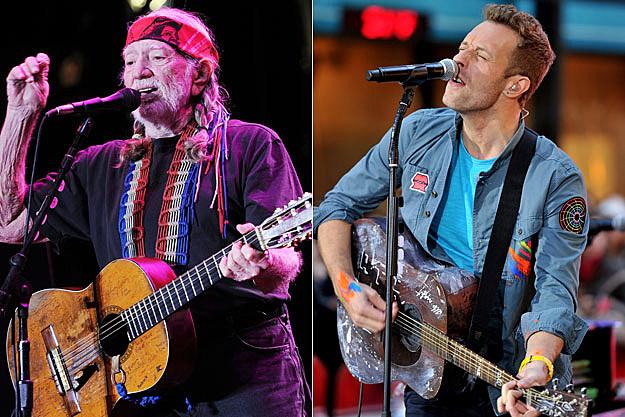 Willie Nelson, Chris Martin