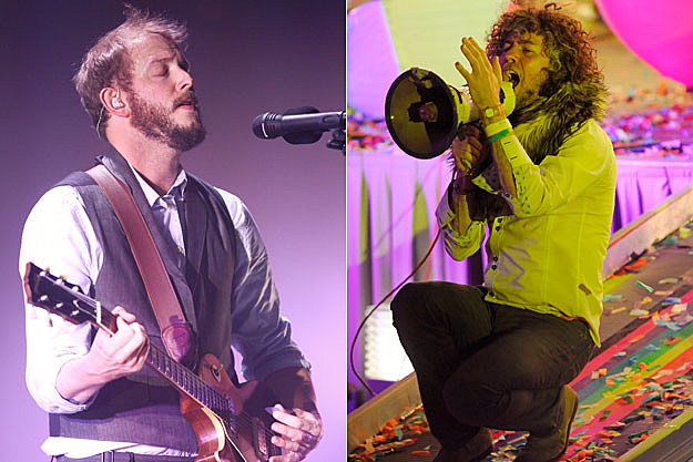 Bon Iver and Flaming Lips