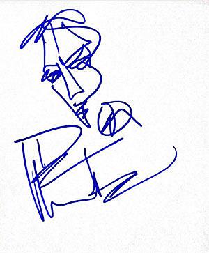 Dave Matthews autograph