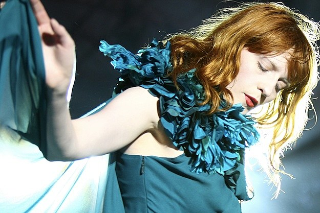Florence + The Machine performs in New York.