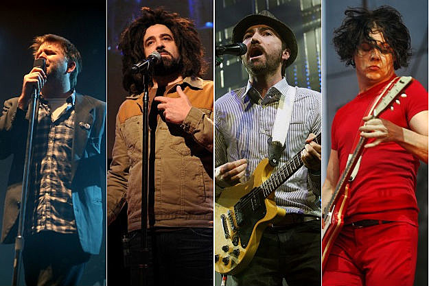 James Murphy, Adam Duritz, James Mercer, Jack White