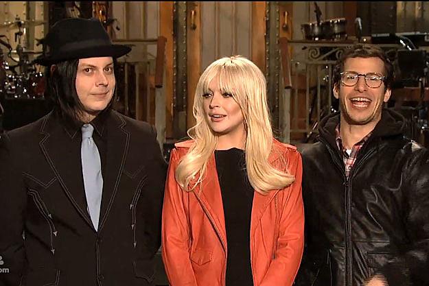 Jack White Lindsay Lohan Andy Samberg