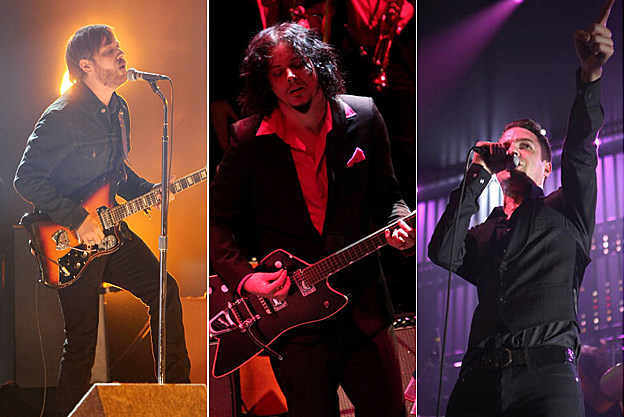 Black Keys, Jack White, Killers