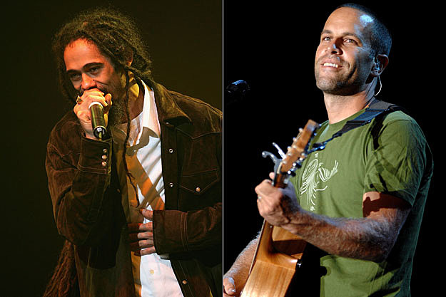Damian Marley and Jack Johnson