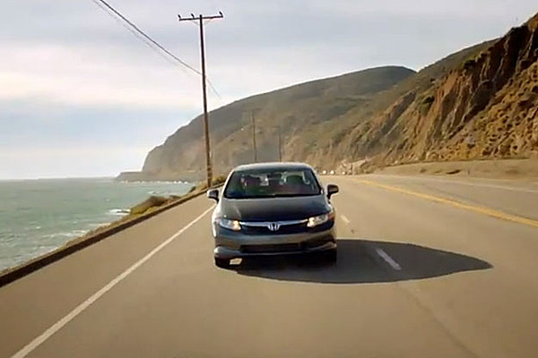 honda civic hf commercial whats  song
