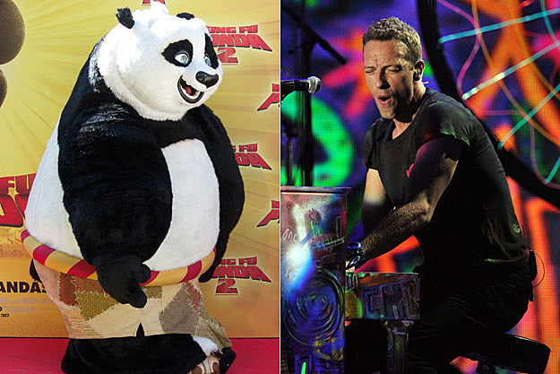 Kung Fu Panda and Coldplay