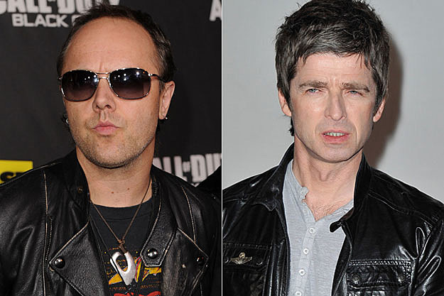 Lars Ulrich Noel Gallagher