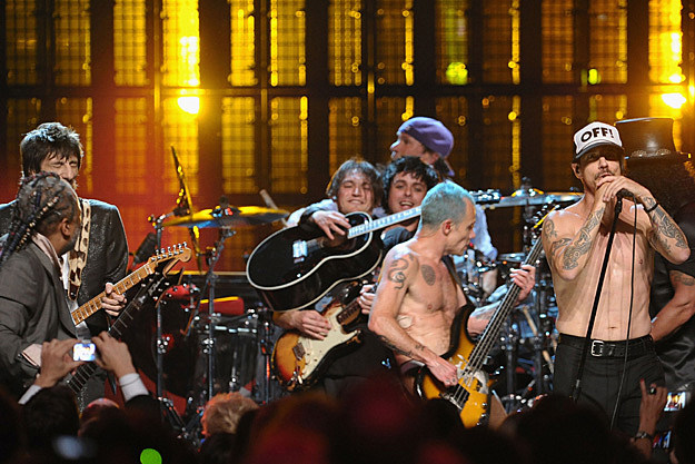 Red Hot Chili Peppers and Green Day