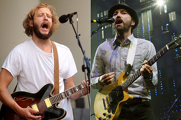 Justin Vernon , James Mercer