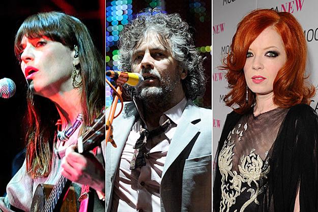 Feist, Wayne Coyne, Shirley Manson