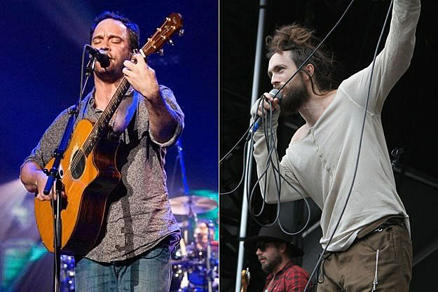 Dave Matthews and Edward Sharpe
