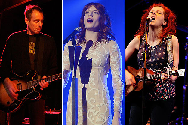 Ted Leo, Florence Welch, Neko Case