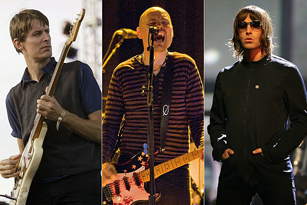 Stephen Malkmus, Billy Corgan, Liam Gallagher