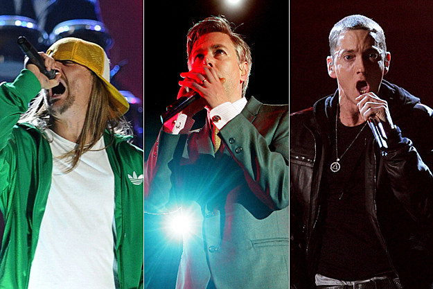 Kid Rock, MCA, Eminem