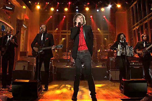 Arcade Fire Mick Jagger