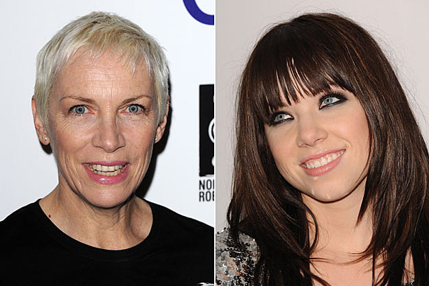 Annie Lennox and Carly Rae Jepsen