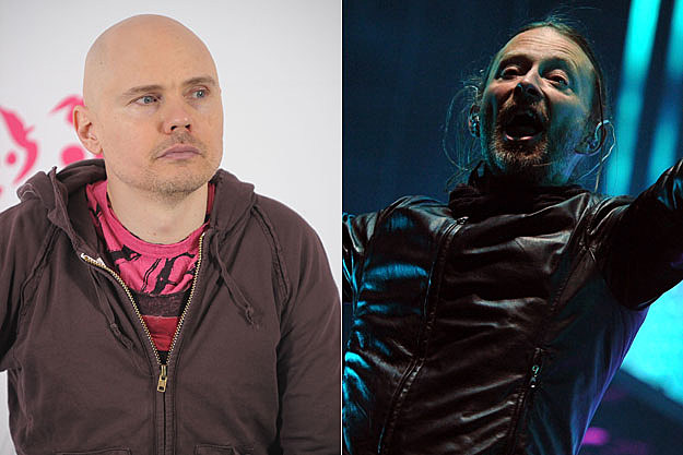 Billy Corgan Radiohead