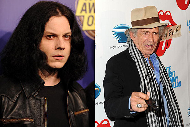 Jack White, Keith Richards