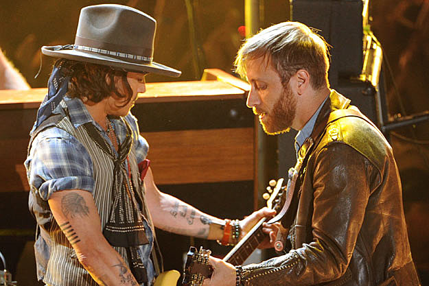 Johnny Depp-Black Keys' Dan Auerbach