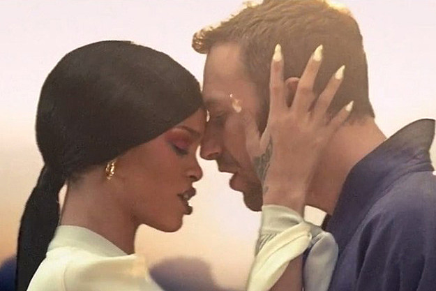Rihanna Chris Martin