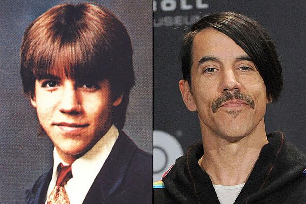 It S Anthony Kiedis Yearbook Photo