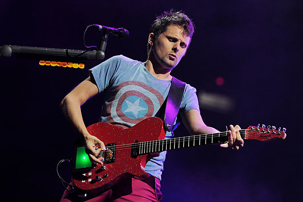 Matthew Bellamy, Getty Images