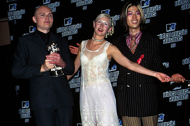 Billy Corgan, D'arcy Wretzky, James Iha