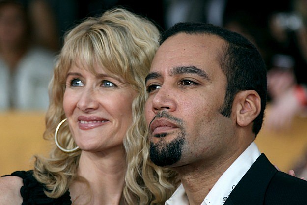 Ben Harper and Laura Dern
