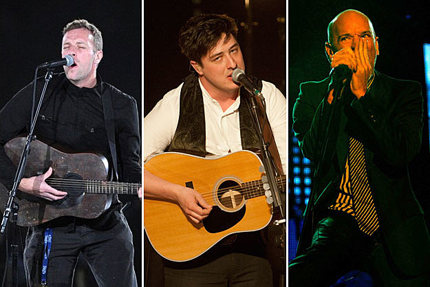 Coldplay, Mumford and Sons, and R.E.M.