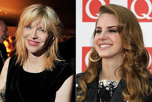 Courtney Love, Lana Del Rey