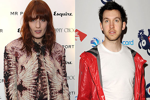 Florence Welch Calvin Harris