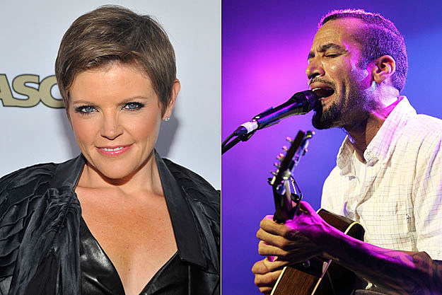 Natalie Maines and Ben Harper