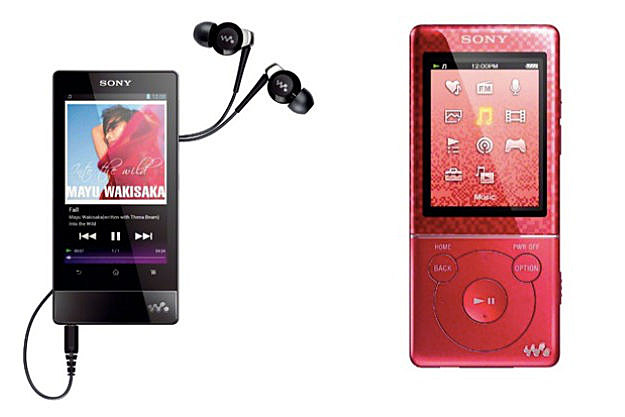 Sony Walkman 2012