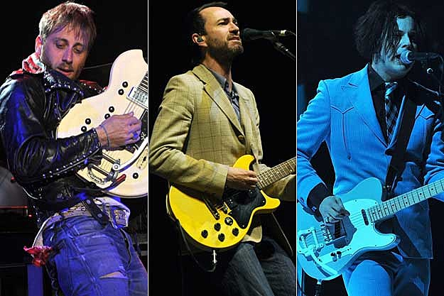 Dan Auerbach, James Mercer, Jack White