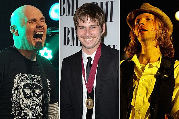 Billy Corgan, Mark Foster, Beck