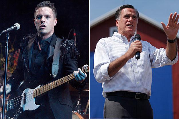 Brandon Flowers Mitt Romney