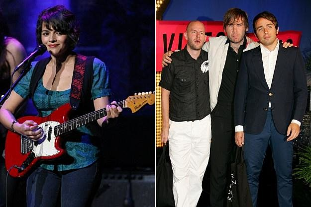 Norah Jones Peter Bjorn and John Justin Sullivan
