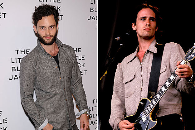 Penn Badgley and Jeff Buckley