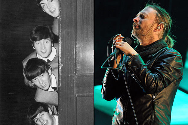 The Beatles and Radiohead