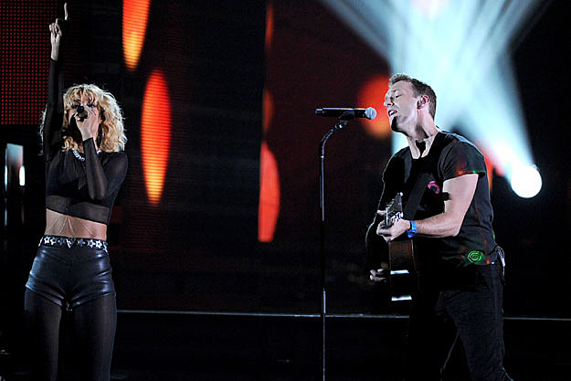 Rihanna, Chris Martin