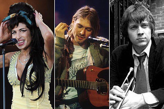 Amy Winehouse, Kurt Cobain, Richard Turner