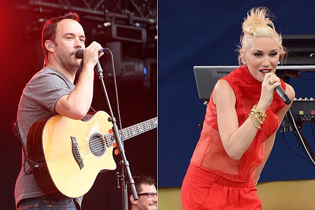 Dave Matthews, Gwen Stefani