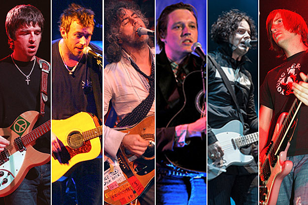 Noel Gallagher, Damon Albarn, Wayne Coyne, Win Butler, Jack White, Jason Stollsteimer