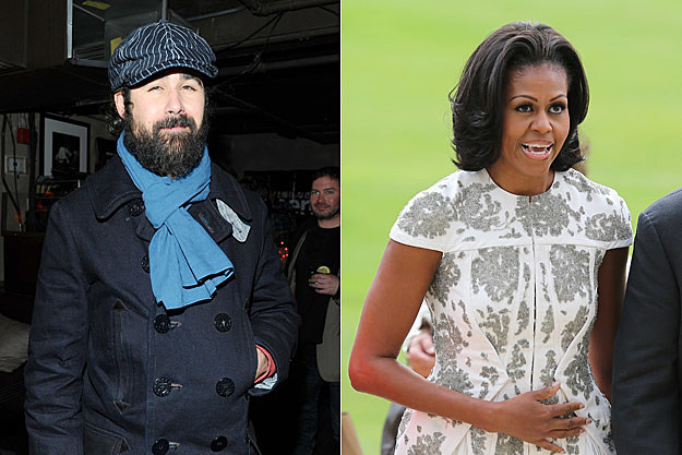Ronnie Vannucci Jr., Michelle Obama