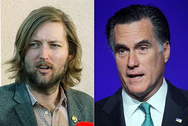 Mark Stoermer, Mitt Romney