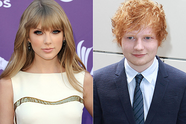 Taylor Swift Confirms Ed Sheeran Duet On New Album Red