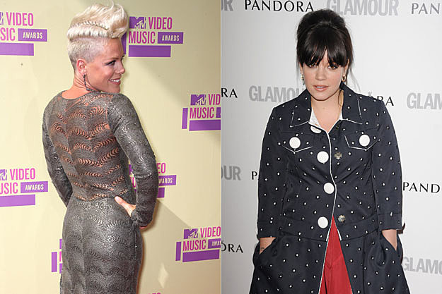 Pink and Lily Allen