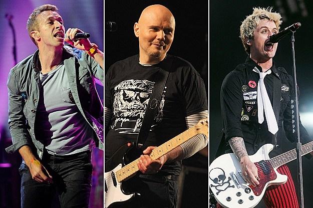 Chris Martin, Billy Corgan, Billie Joe Armstrong