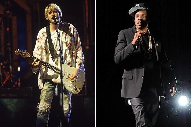 Kurt Cobain Jay-Z