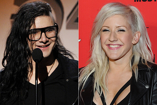 Ellie Goulding and Skrillex